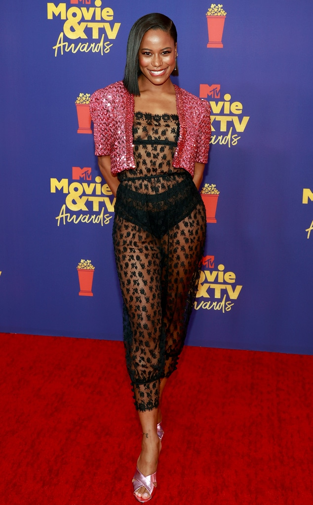 Taylour Paige, 2021 MTV Movie and TV Awards, Red Carpet Fashion