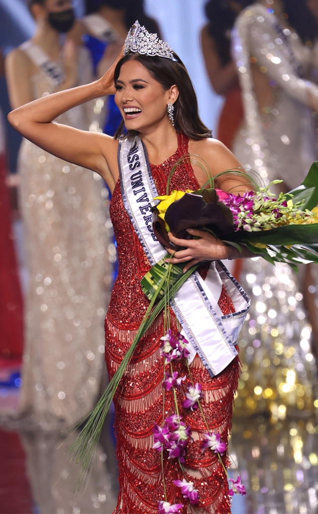 Miss Mexico Andrea Meza Crowned Miss Universe 2021 - E! Online