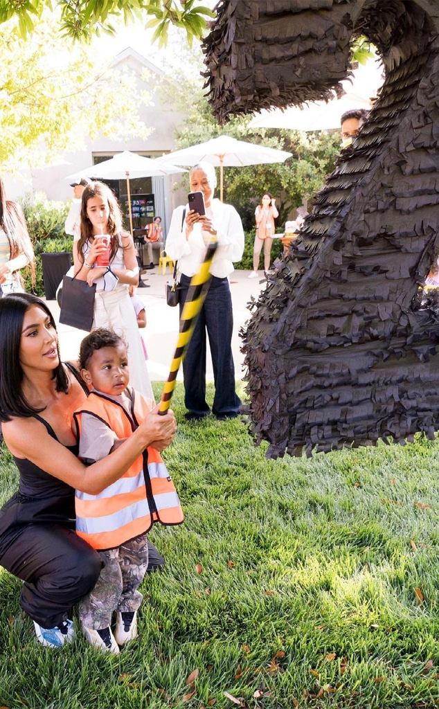 Kim Kardashian Shares Adorable Photos From Psalm's 2nd Birthday Party - E!  Online
