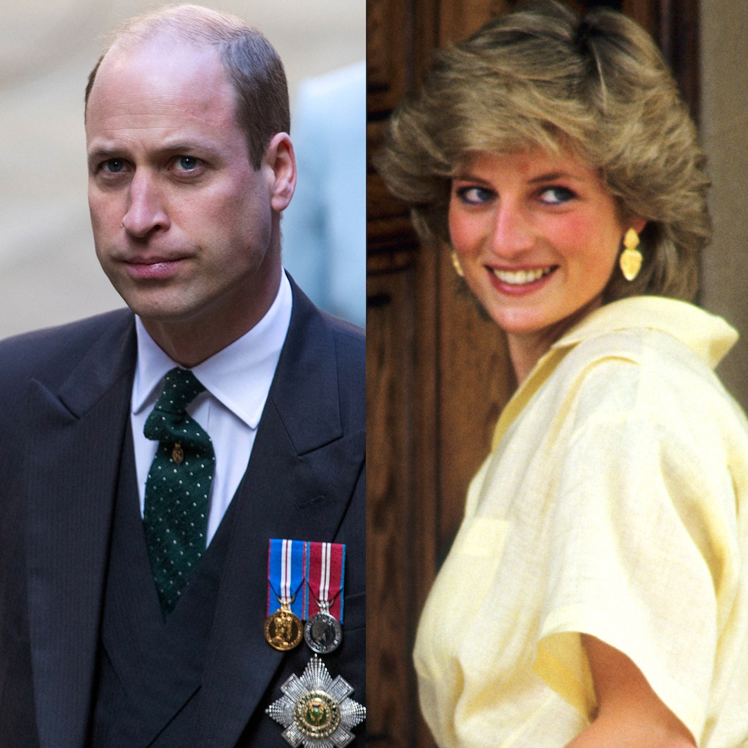 Prince William Recalls the Moment He Learned His Mom Princess Diana Died