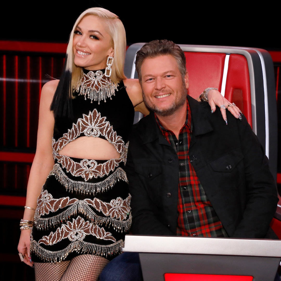 See Gwen Stefani Dress Up as Blake Shelton While Cleaning Out His Closet – E! Online