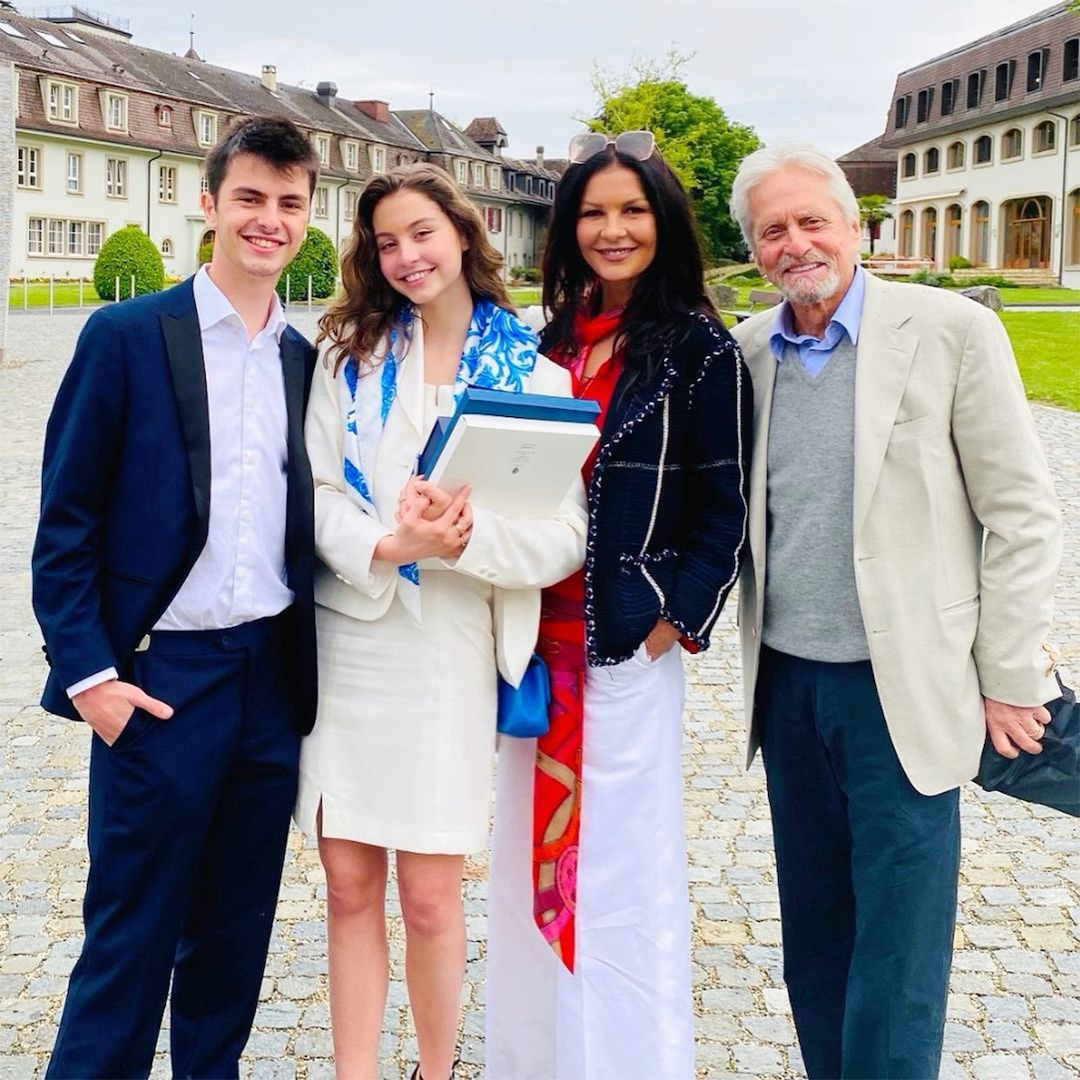 Michael Douglas Was Mistaken for 18-Year-Old Daughter Carys' Grandpa at Her Graduation thumbnail