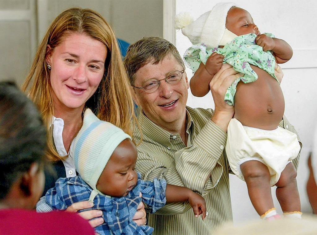Bill Gates, Melinda Gates, 2003 Bill and Melinda Gates Foundation