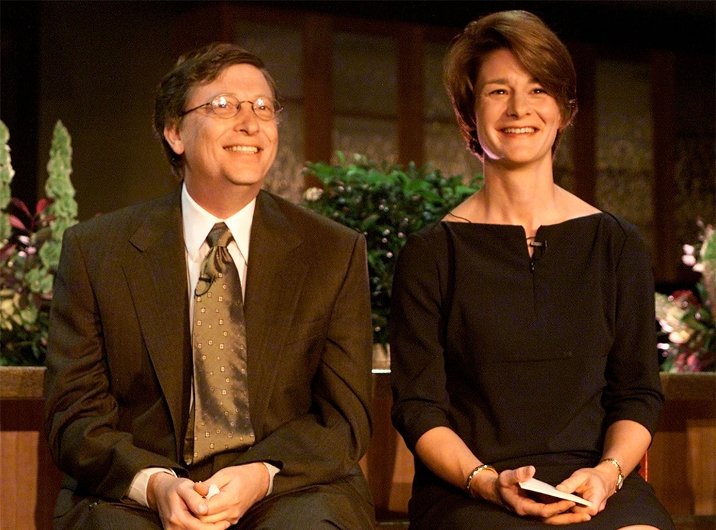 Bill Gates, Melinda Gates, 2000