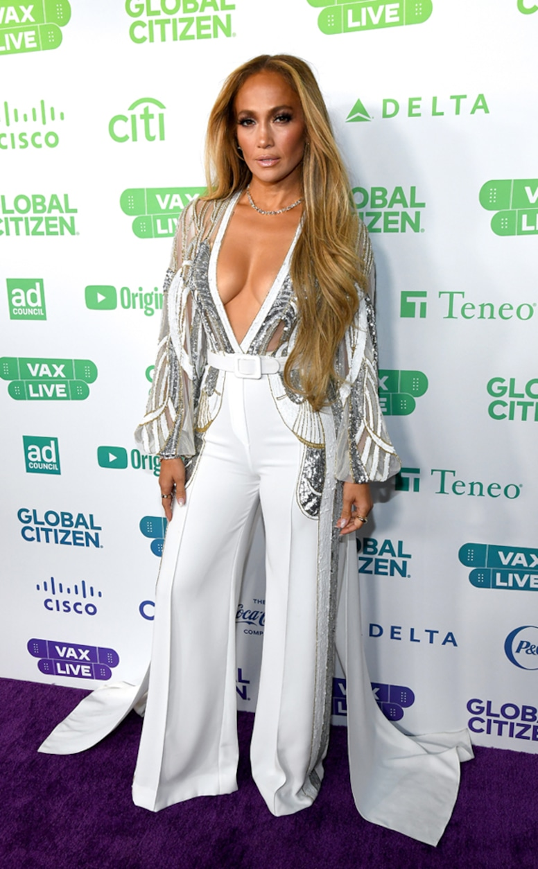 Jennifer Lopez, Global Citizen VAX Live