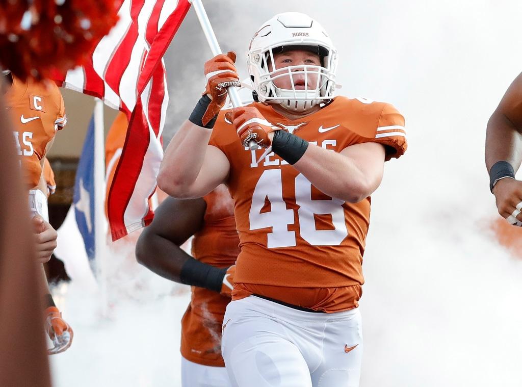 Jake Ehlinger, Texas Longhorns linebacker