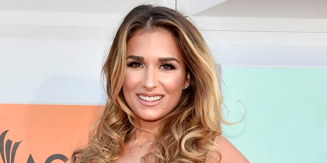 """Jessie James Decker Poses in a Bikini After Treating Herself to """"New Boobies"""" - E! Online.jpg"""