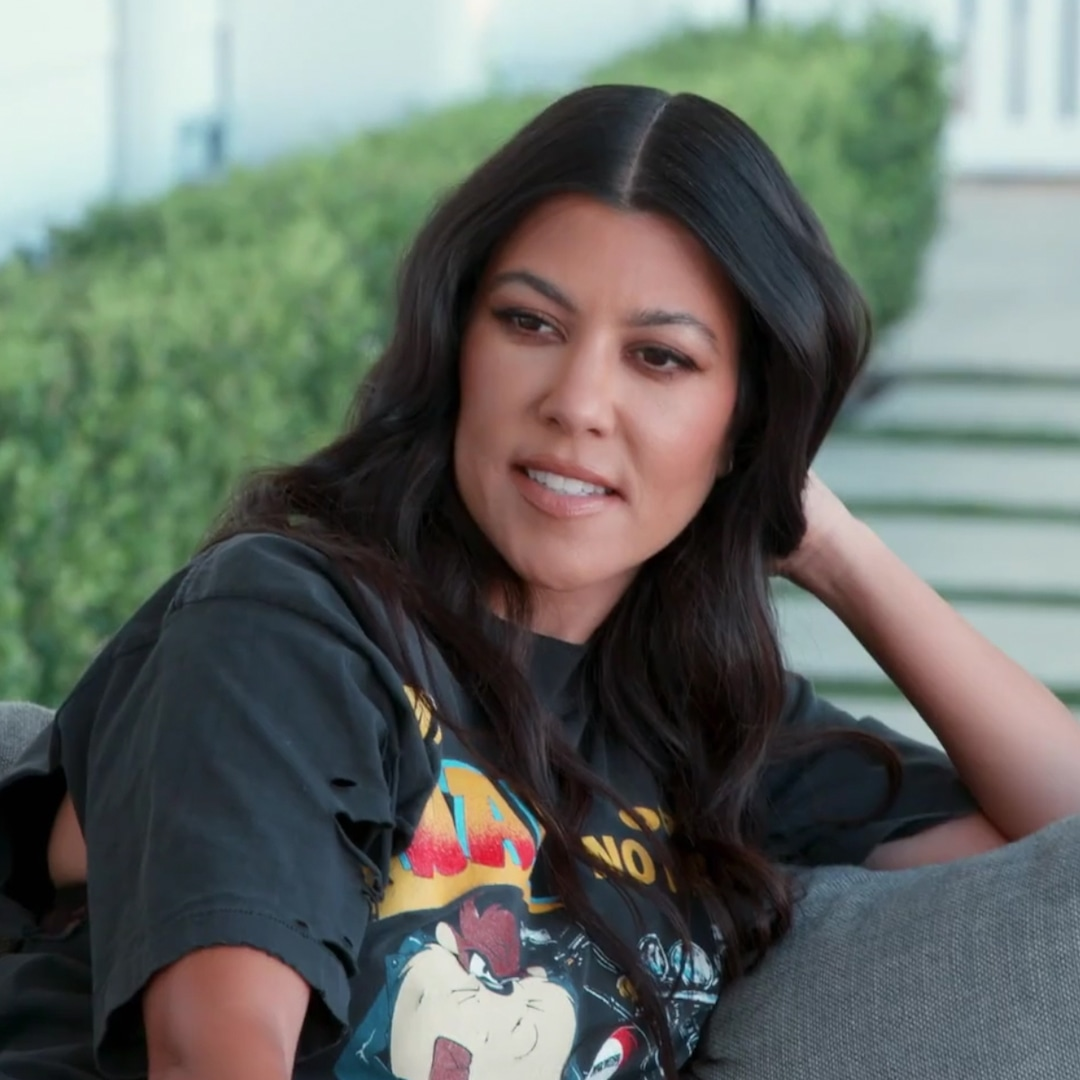 Kourtney Kardashian Reacts to Claims She