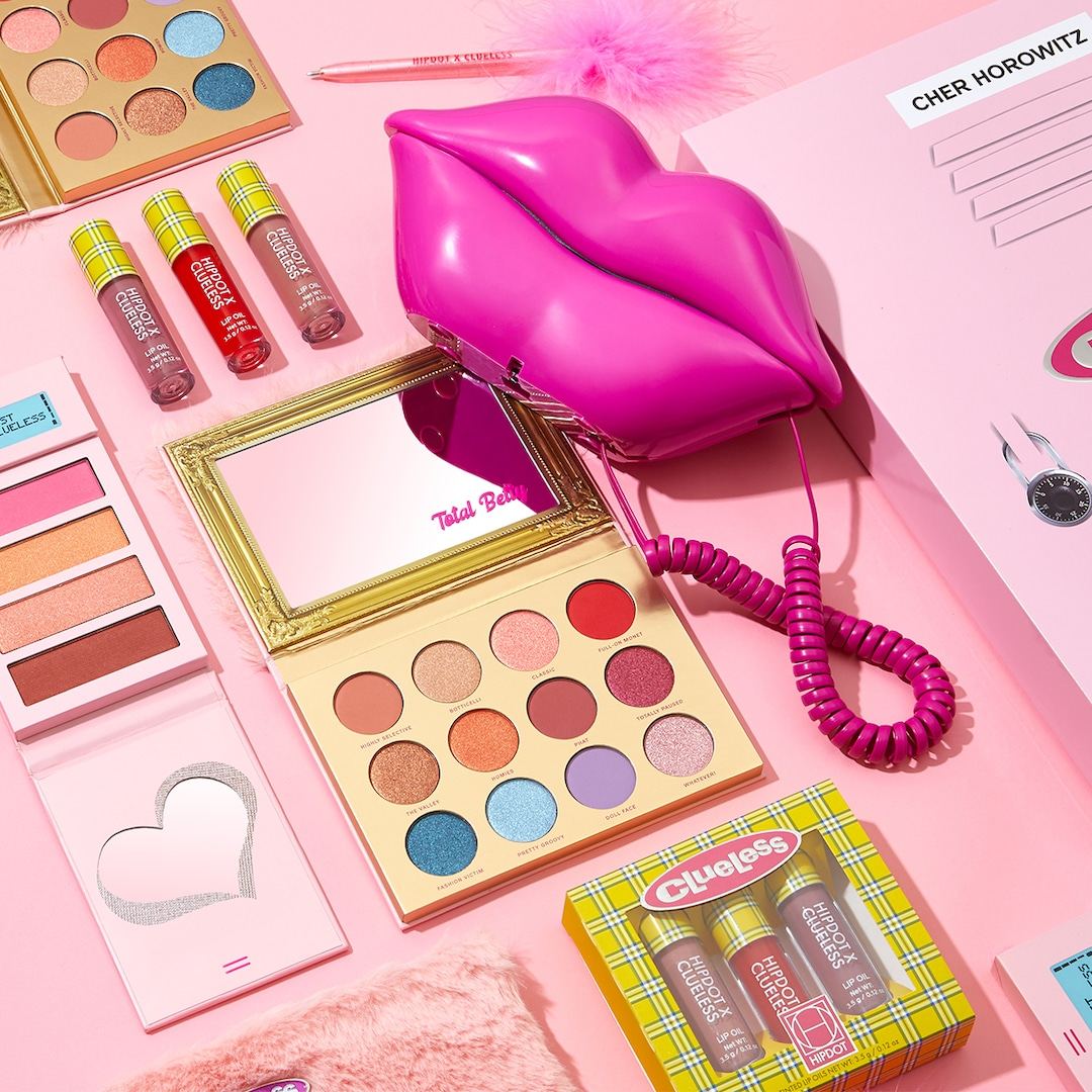 We're Totally Buggin Over the Clueless x HipDot Makeup Collection
