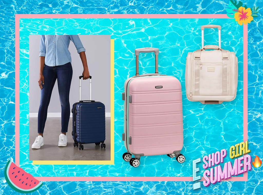 E-Comm: Shop Girl Summer- Carry-On Luggage