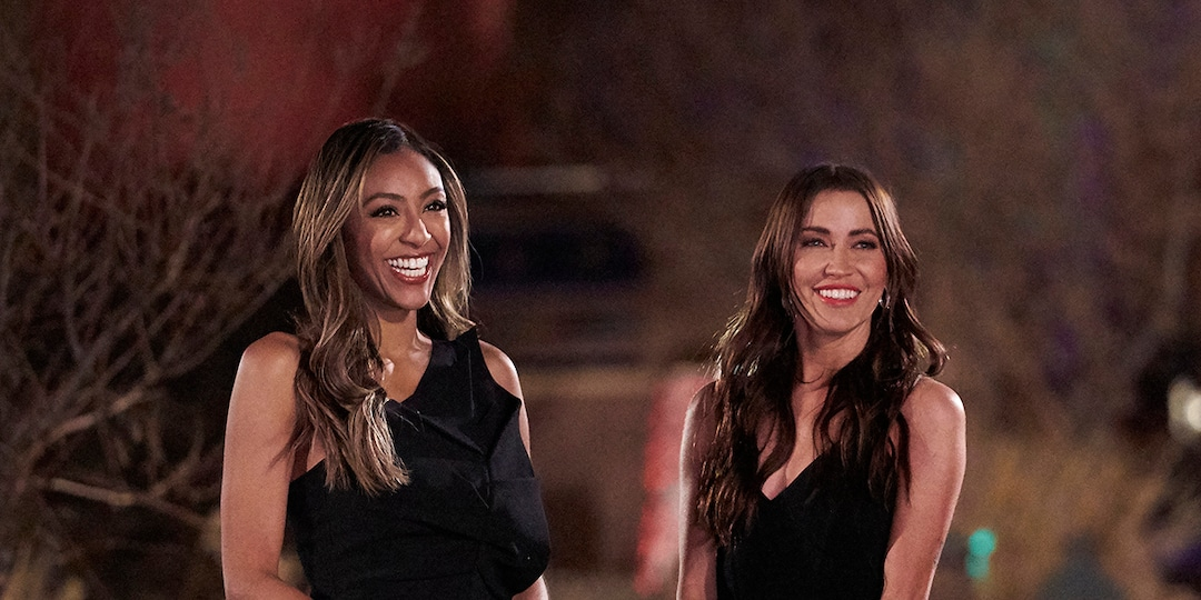 The Bachelorette's Kaitlyn Bristowe and Tayshia Adams Are Taking Their Hosting Duties Seriously - E! Online.jpg