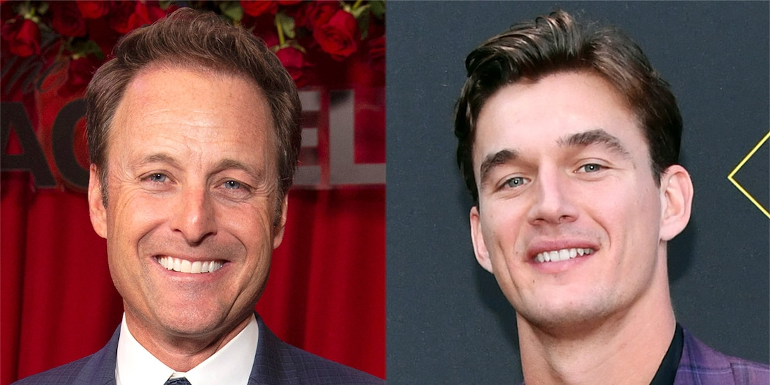 """Tyler Cameron Says The Bachelor Franchise Needs """"Some Fresh Faces"""" After Chris Harrison's Exit - E! Online.jpg"""