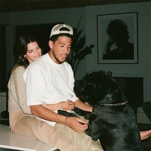 Kendall Jenner, Devin Booker, Instagram