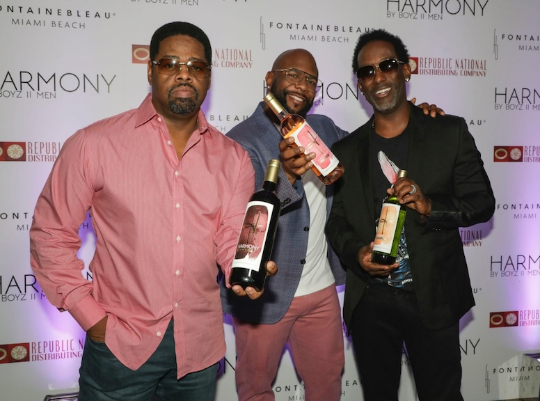 Boyz ll Men, Stars With Alcohol Brands