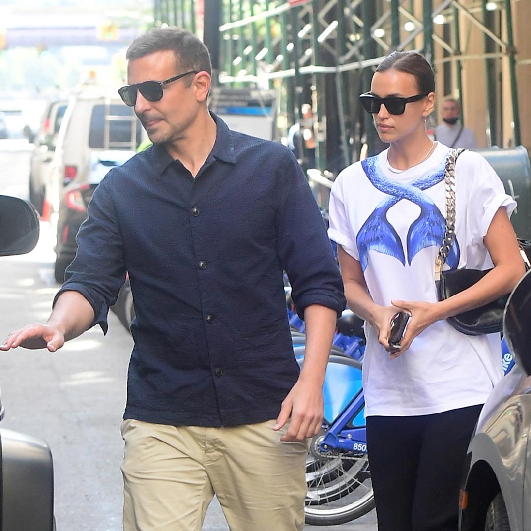 Irina Shayk Steps Out With Ex Bradley Cooper Amid Kanye West Romance Rumors - E! NEWS