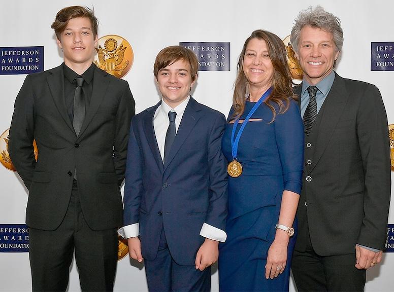 Romeo Bongiovi, Jake Bongiovi, Dorothea Bongiovi, Jon Bon Jovi