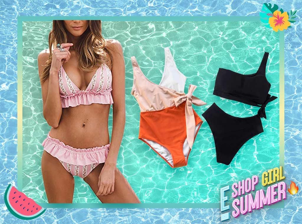 E-Comm: Shop Girl Summer- Amazon Swimsuits