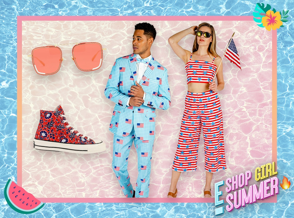 E-comm: 4th of July Americana Fashion Style Guide