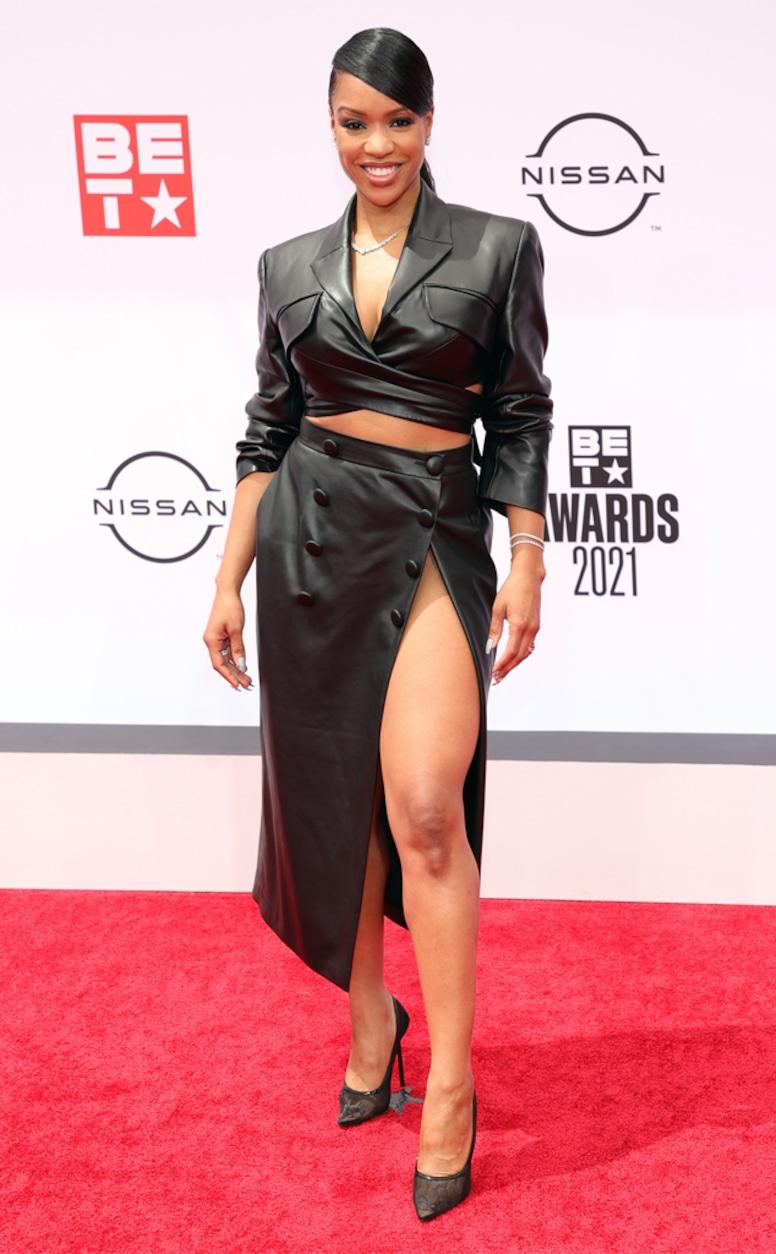 Michelle Mitchenor, 2021 BET Awards, red carpet fashion