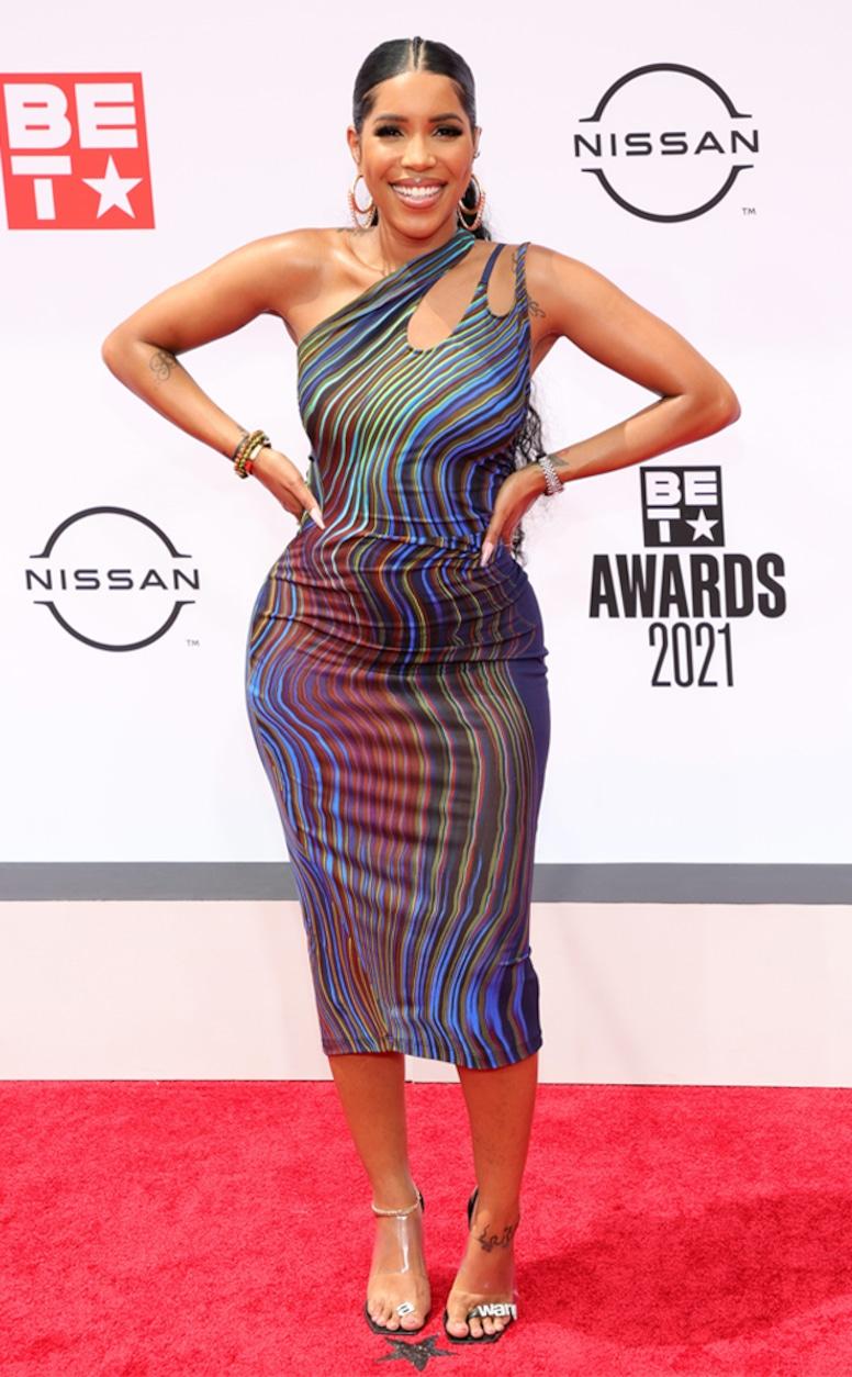 Jasmin Brown, 2021 BET Awards, red carpet fashion