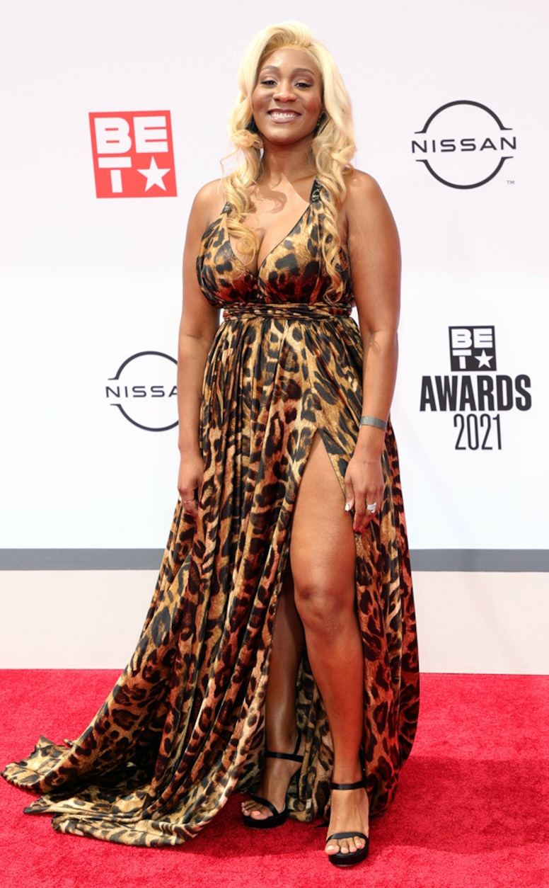 Mignon, 2021 BET Awards, red carpet fashion