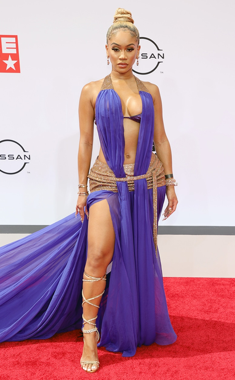 Saweetie, 2021 BET Awards, Red Carpet Fashion