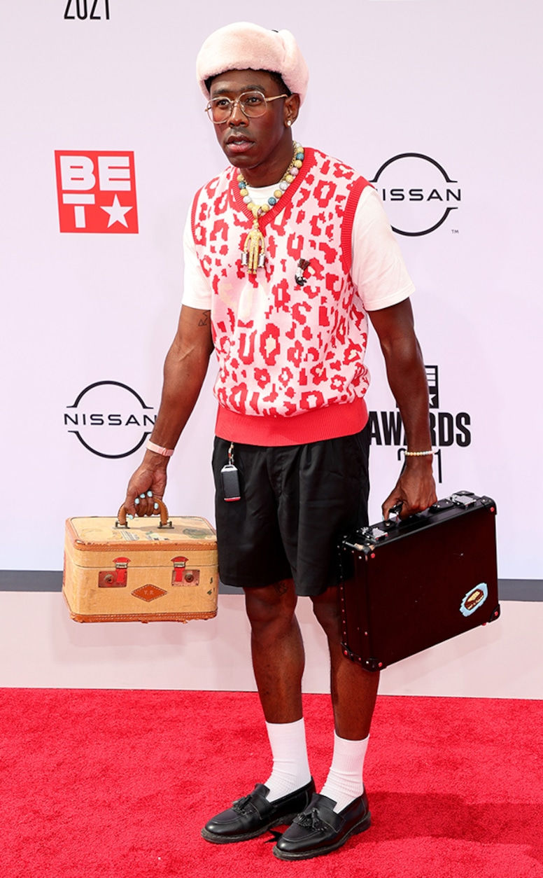 Tyler the Creator, 2021 BET Awards, Red Carpet Fashion