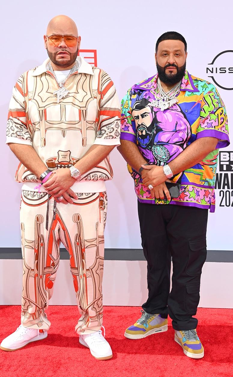 Fat Joe, DJ Khaled, 2021 BET Awards, Red Carpet Fashion