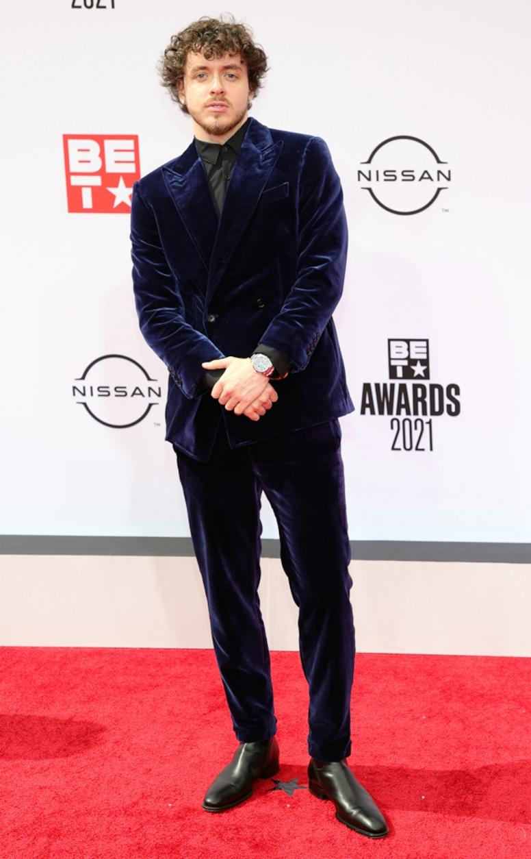 Jack Harlow, 2021 BET Awards, red carpet fashion