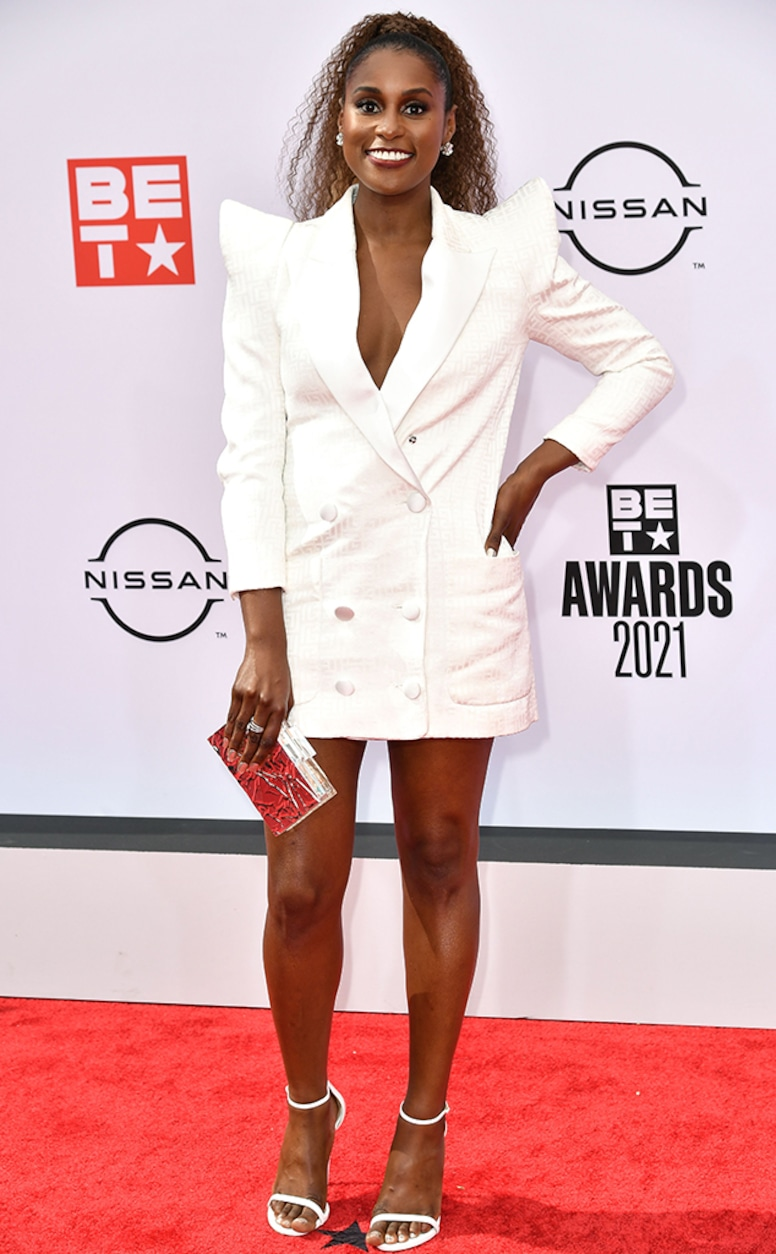 Issa Rae, 2021 BET Awards, Red Carpet Fashion