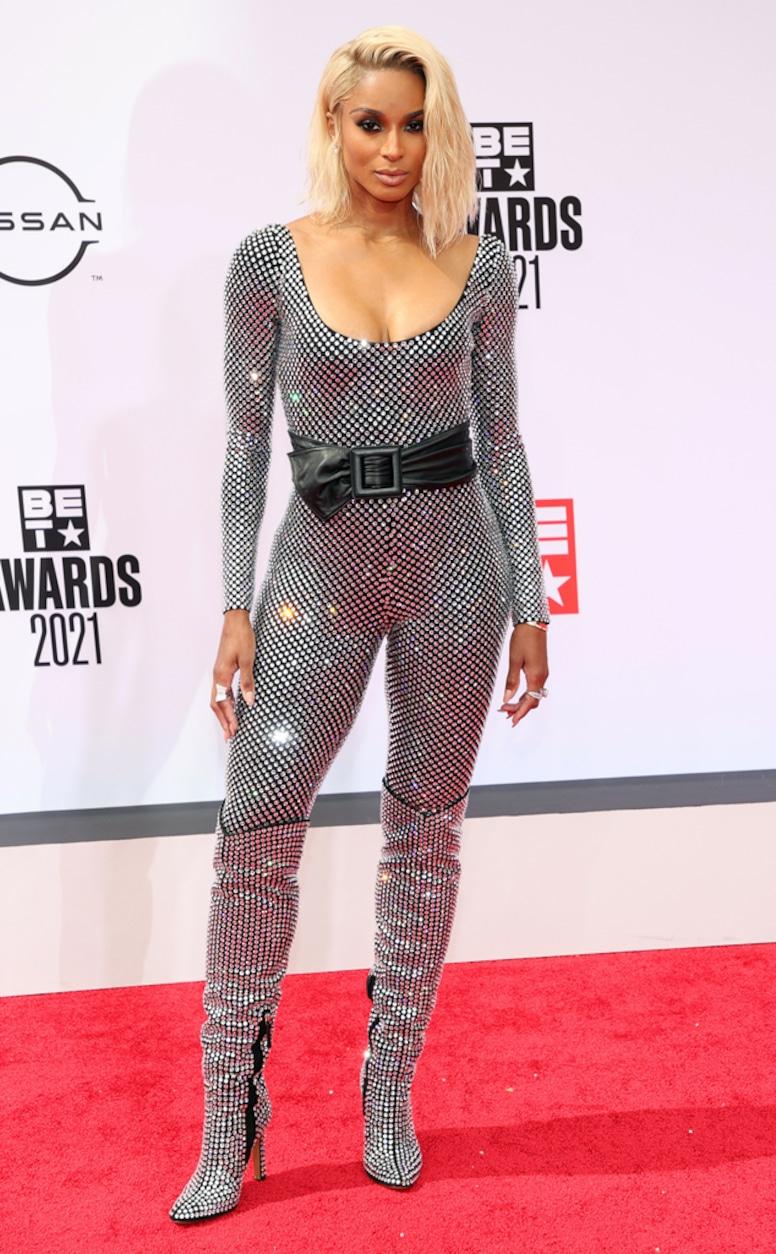 Ciara, 2021 BET Awards, red carpet fashion