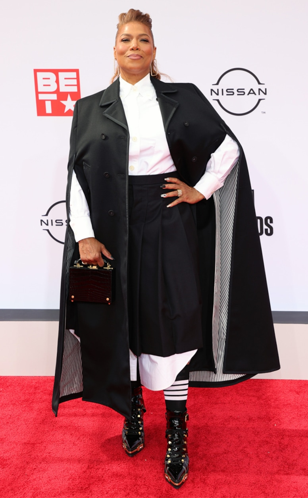 Queen Latifah, 2021 BET Awards, red carpet fashion