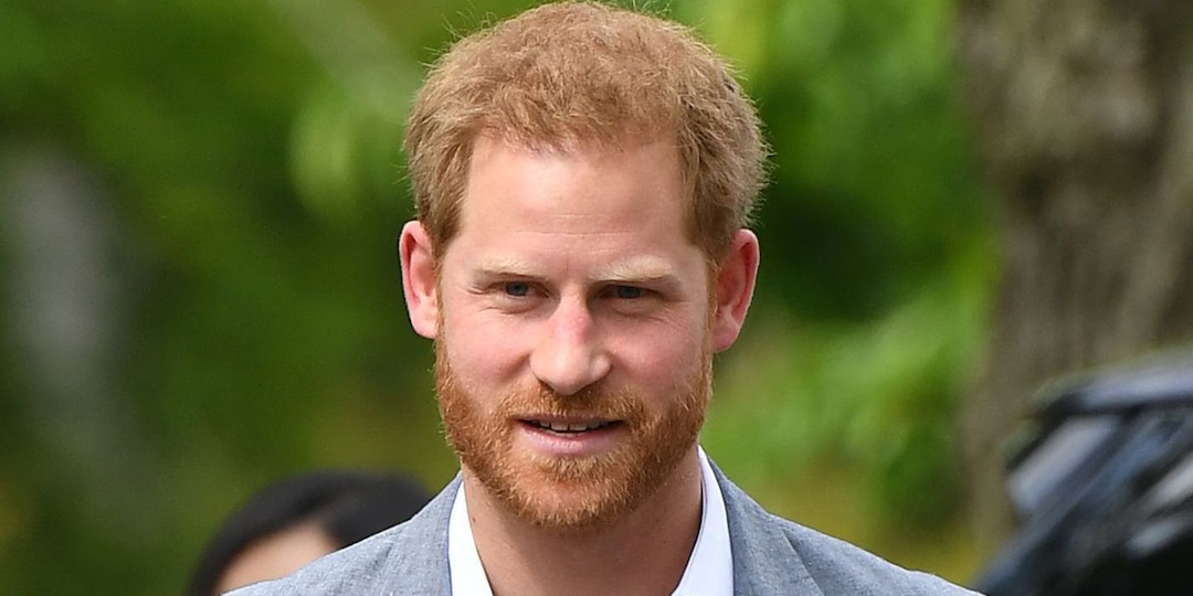 Prince Harry Takes Brief Break From Paternity Leave for Special Announcement - E! Online.jpg
