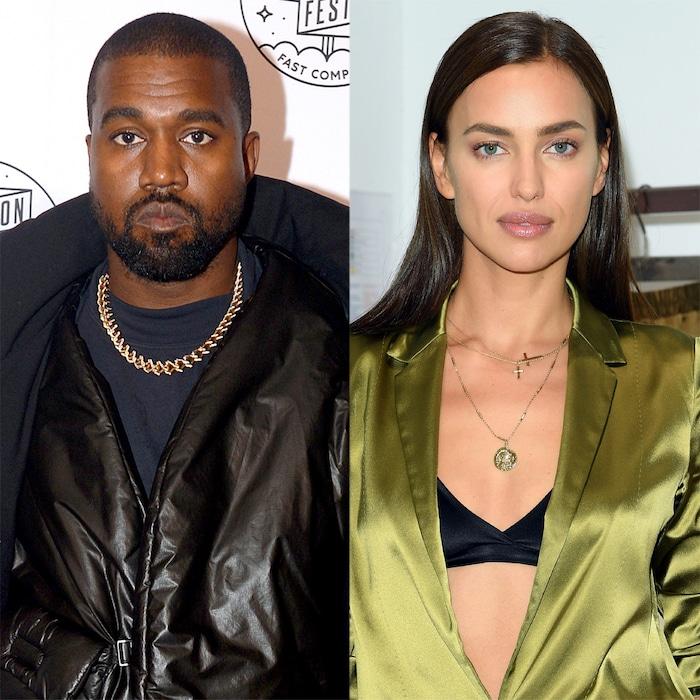 Kanye West Irina Shayk Spark Romance Rumors With Trip To France E Online