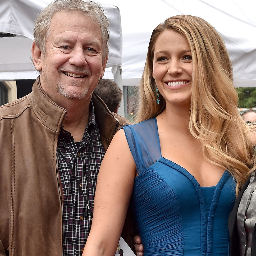 Blake Lively Shares Touching Tribute to Father Ernie After His Death