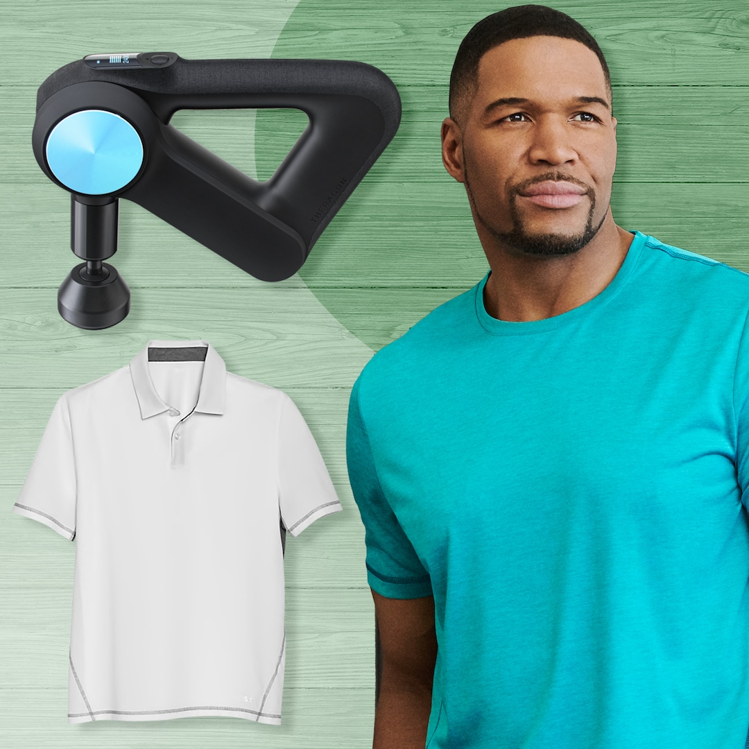 Michael Strahan's Father's Day Gift Ideas Will Make Dad Feel Seen & Heard