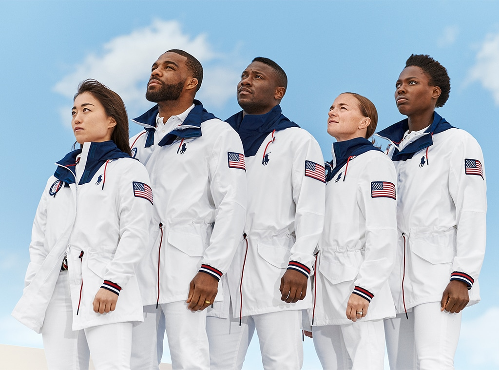 Closing Ceremony, Ralph Lauren Team USA Uniforms, 2020 Tokyo Olympics
