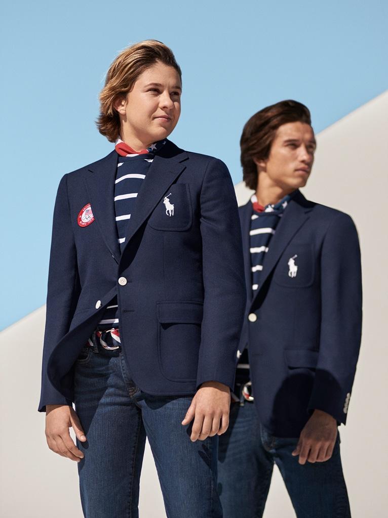 Opening Ceremony, Ralph Lauren Team USA Uniforms, 2020 Tokyo Olympics