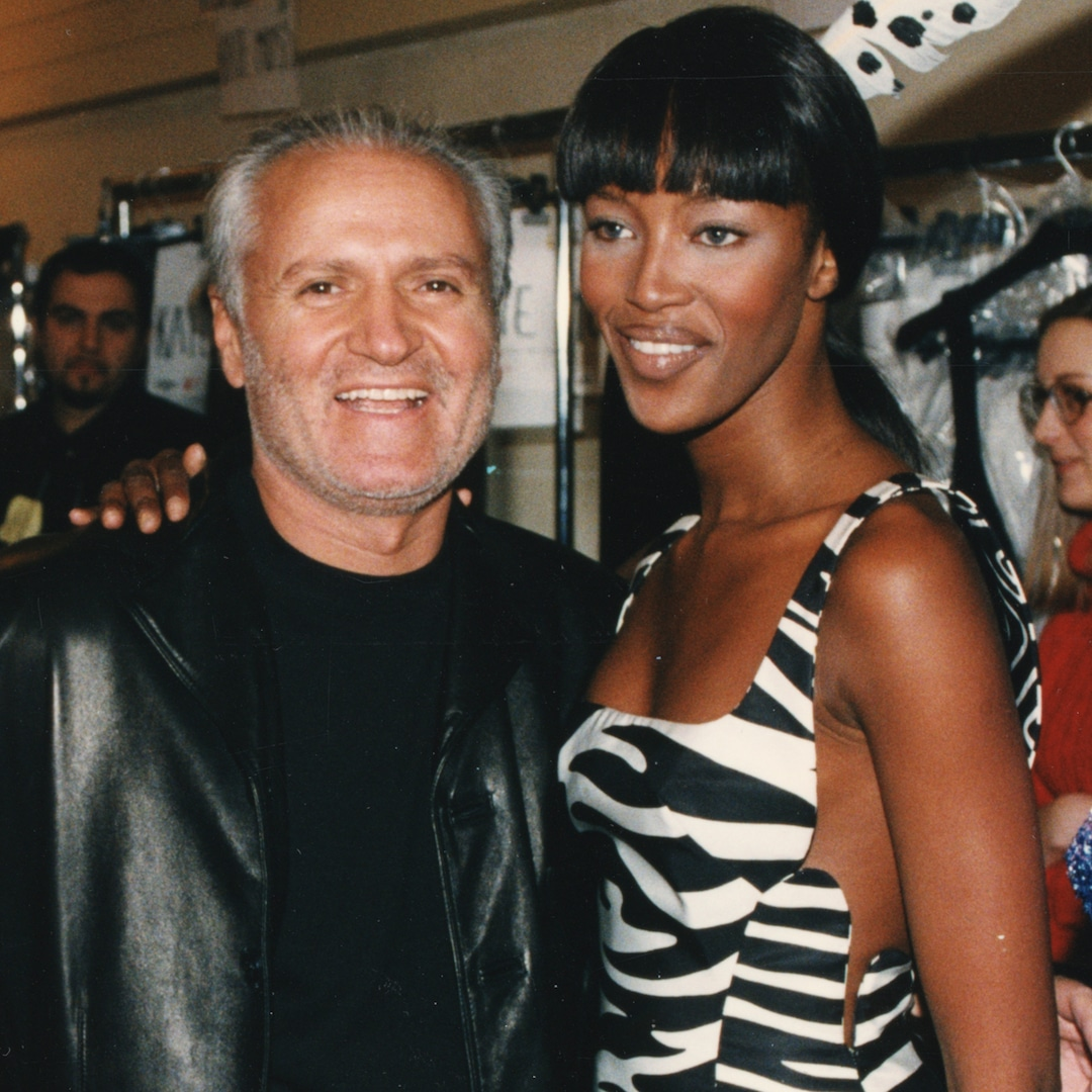 Naomi Campbell Shares Rare Photo of Her Baby Girl to Honor Gianni Versace on Death Anniversary - E! NEWS