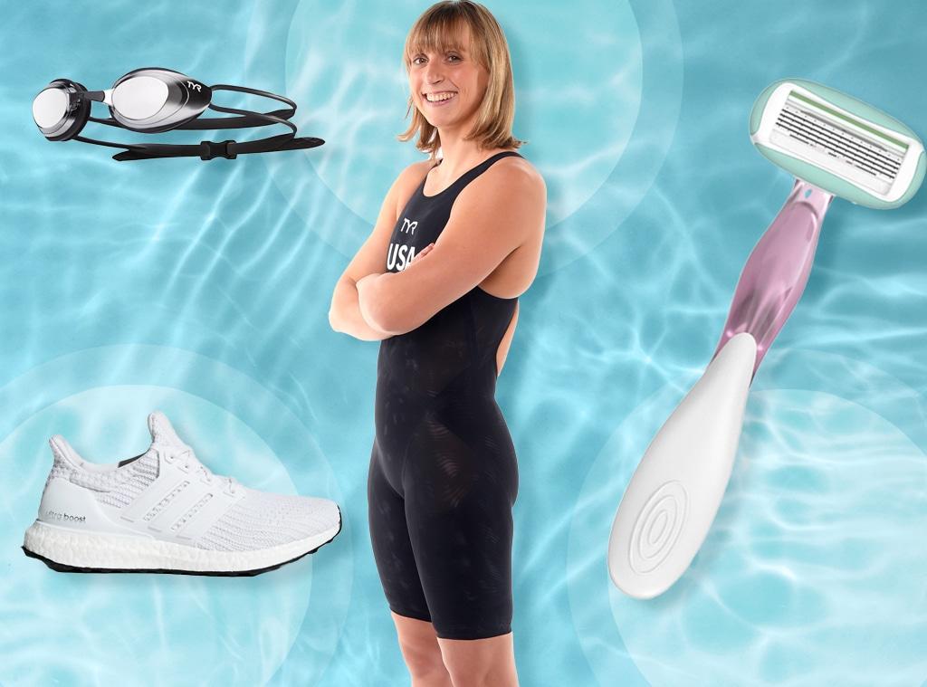 E-Comm: Katie Ledecky What's In My Swim Bag
