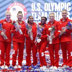 2021 Summer Olympics, USA Gymnastics, Jade Carey, Sunisa Lee, Jordan Chiles, Simone Biles, Mykayla Skinner, Grace McCallum