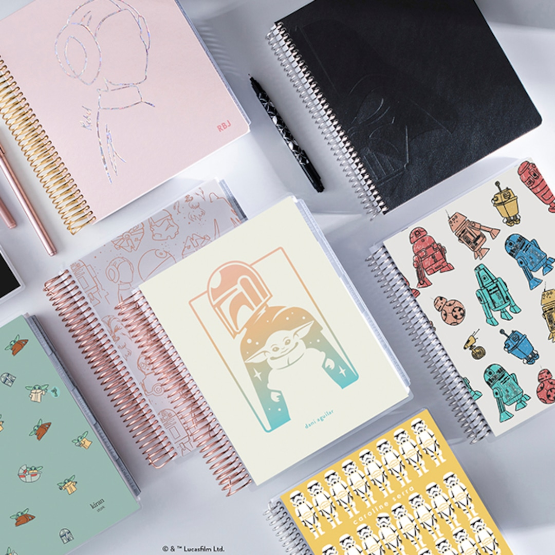 The Force Is Strong With Erin Condren's New Star Wars Collection