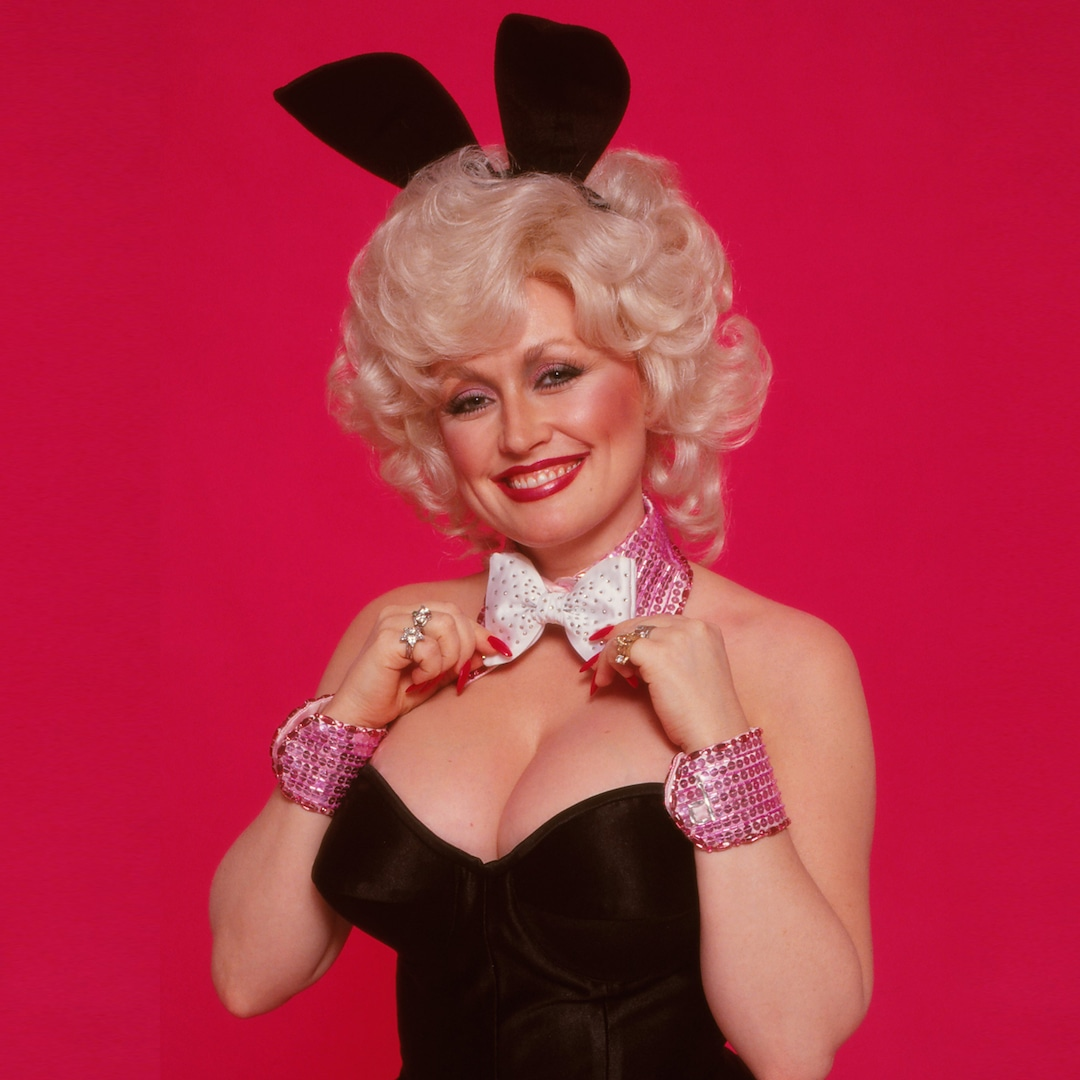 Dolly Parton Just Recreated Her Iconic Playboy Cover 43 Years Later