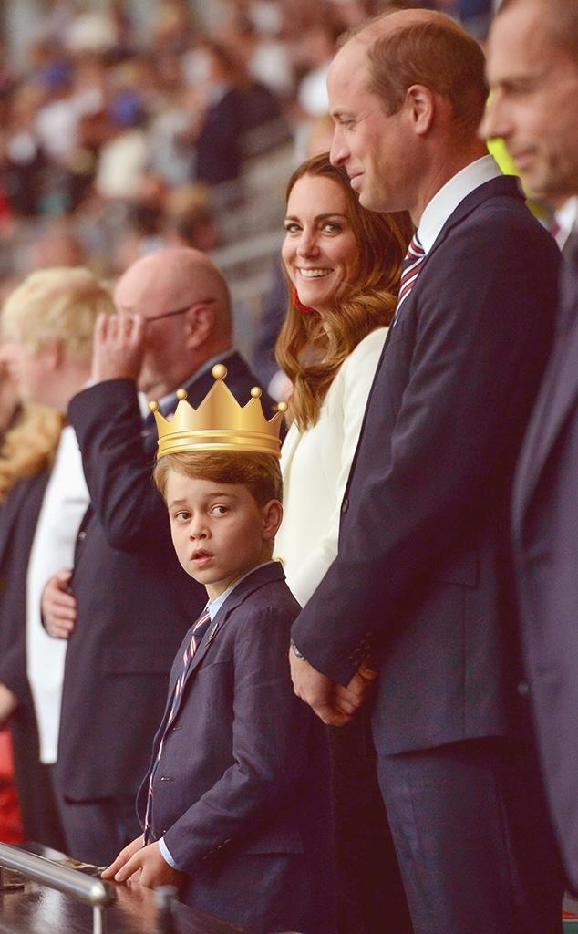 Prince George of Cambridge, Prince William, Kate Middleton