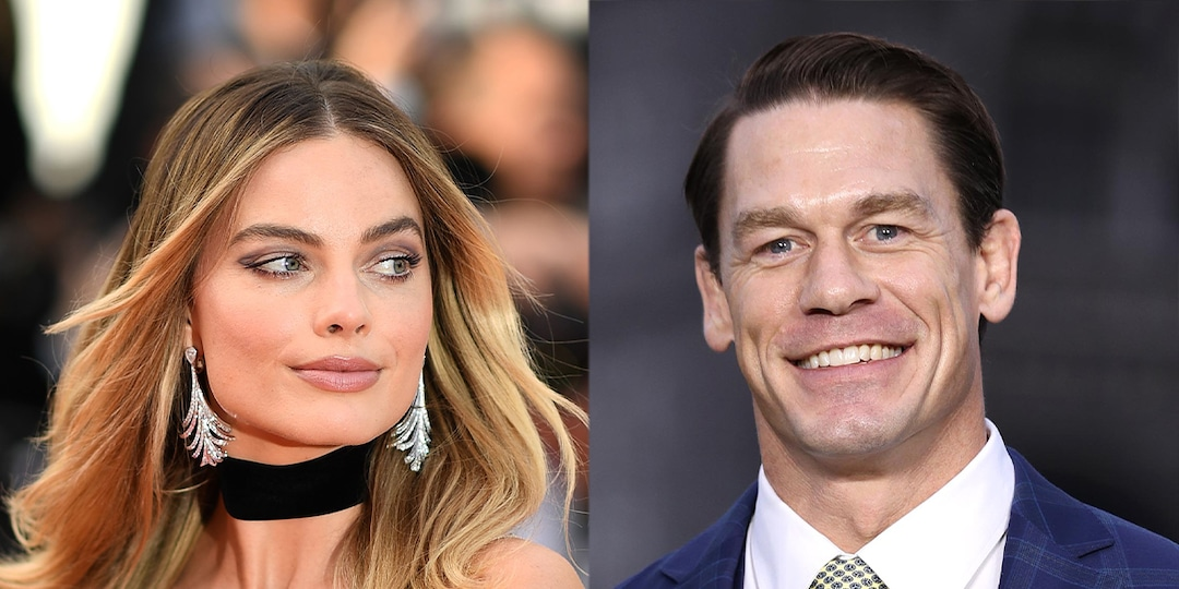 """How Margot Robbie Told John Cena About Her """"Awkward"""" Life-Size Cut-Out of Him - E! Online.jpg"""