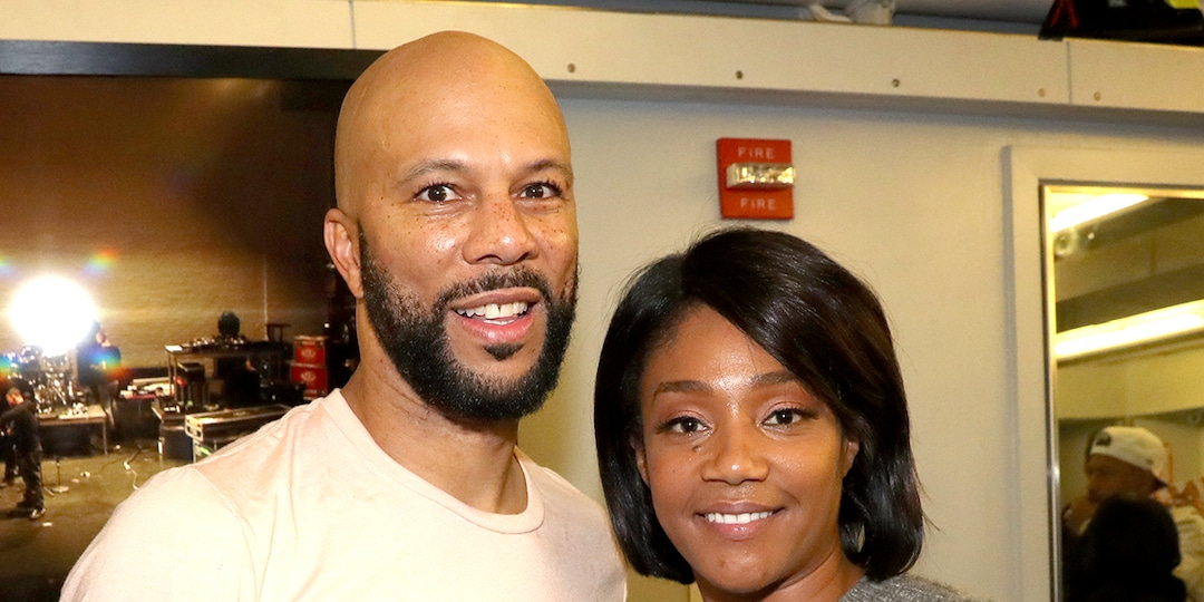 """Why Common Is """"Constantly In Shock"""" Over Girlfriend Tiffany Haddish - E! Online.jpg"""