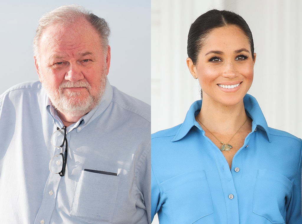 Thomas Markle Says He Plans to Petition California Courts to See His Grandchildren