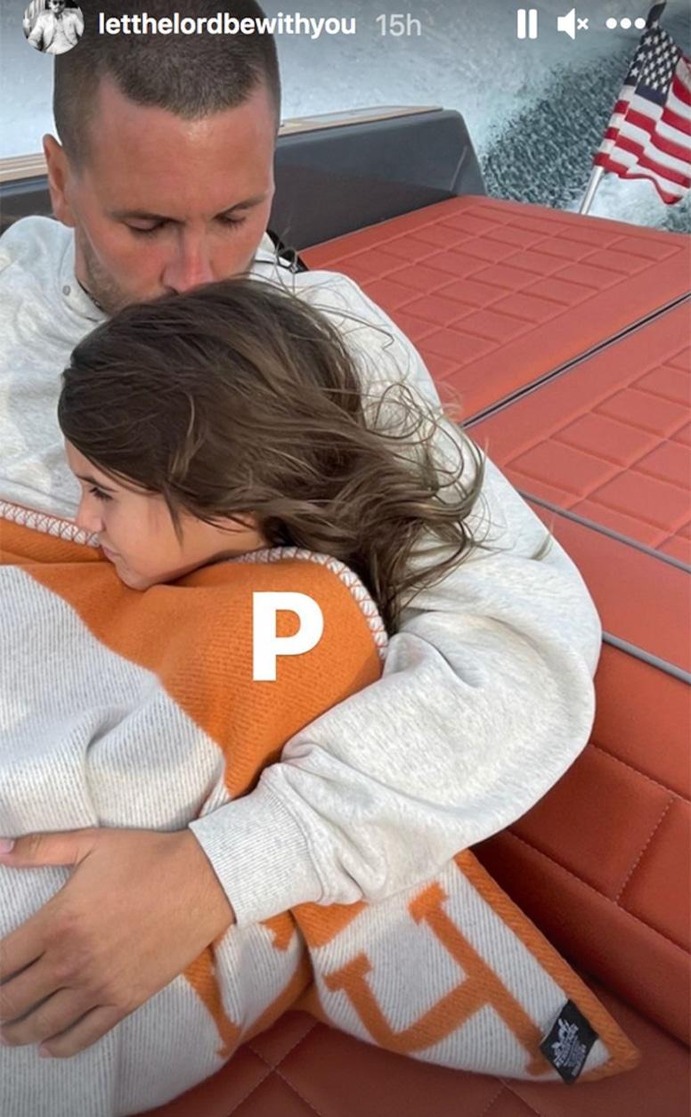 Scott Disick, Penelope Disick, Boat, Trip, Instagram