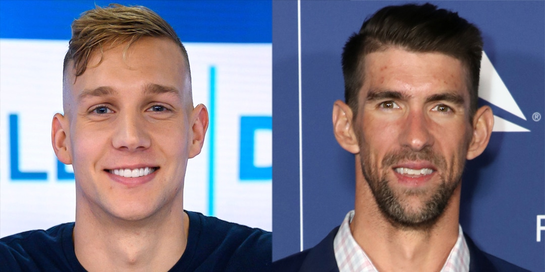 Why Olympic Swimmer Caeleb Dressel Doesn't Want You Comparing Him to Michael Phelps - E! Online.jpg