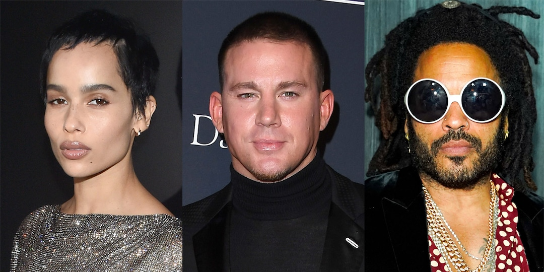 Zoë Kravitz May Have Just Suggested a Magic Mike 3 Starring Channing Tatum and Dad Lenny - E! Online.jpg
